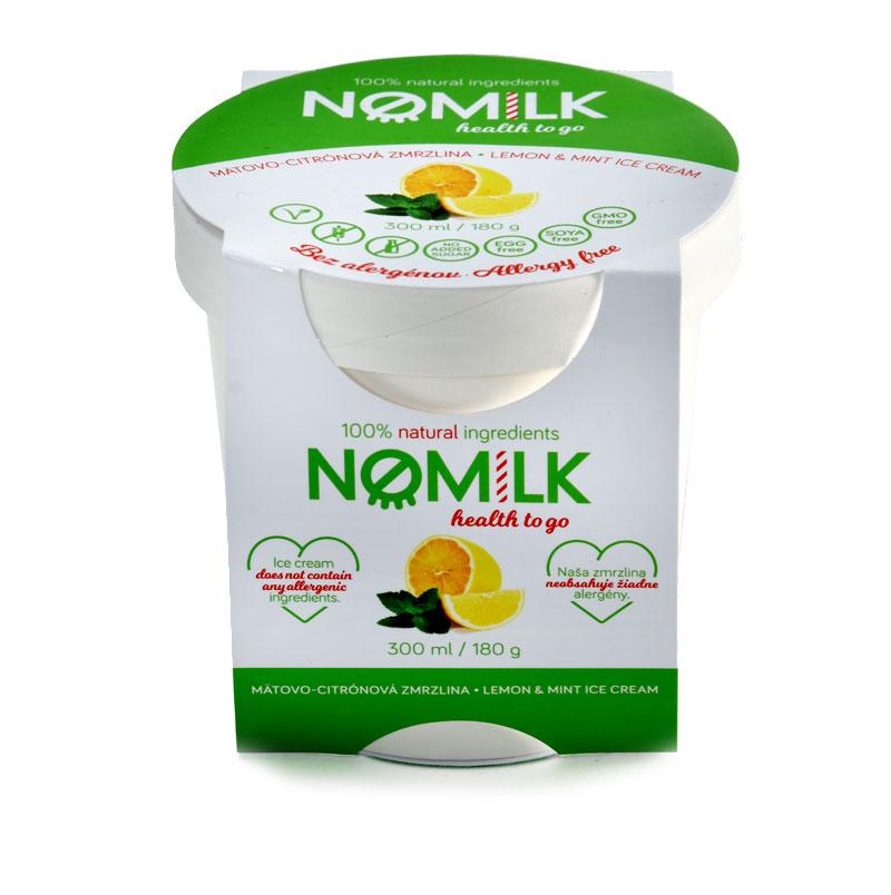 NoMilk - Tejmentes, gluténmentes mentés citrom fagylalt