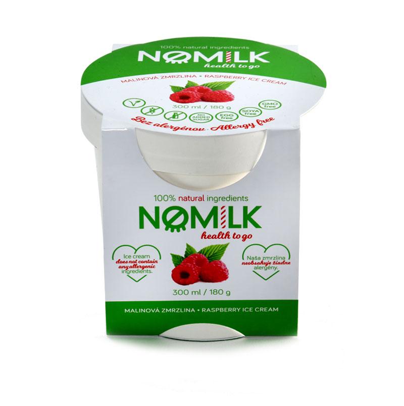 NoMilk - Tejmentes, gluténmentes málna fagylalt